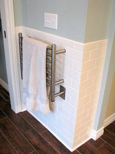 Towel warmers are an added touch of luxury that no modern bathrooms can do without. Many towel warmers double as a space heater and reduce humidity in the bathroom, which helps control mildew and mold growth. And, of course, towel warmers keep your towels dry, warm and toasty, a welcome treat when stepping out of the shower on a cold winter morning. When choosing between towel warmers, it's important to understand the differences between the types of towel warmers.