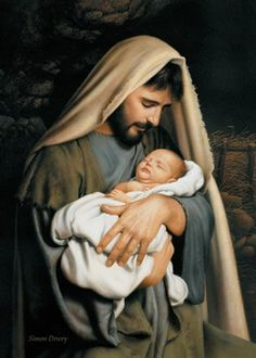 LDS Art - Christmas & Nativity — Altus Fine Art Holy Family Pictures, Baby Jesus Pictures, Pictures Of Jesus Christ, Jesus Pics, Simon Dewey, Jesus Calms The Storm, Son Of David, Lds Art, Light Of The World
