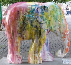 Title: Doot 4 Artist: Marco Evaristi Location: Kongens Nytorv African Forest Elephant, Asian Elephant, Elephas Maximus, Elephant Parade, Elephants, Copenhagen, Mammals, Art 3d, Owls