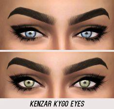 Kenzar Sims: Kygo Eyes • Sims 4 Downloads