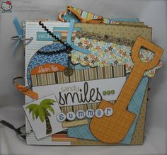 Crafting with Class: Sandy Smiles Summer Mini Album