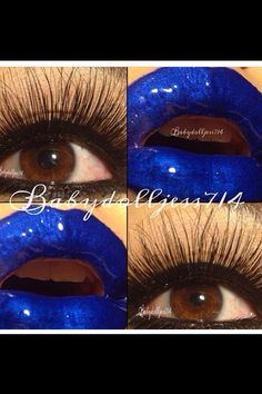 I'm in love with this blue Im In Love, Halloween Face Makeup, Poster, Blue, Art, Craft Art, Kunst, Posters, Movie Posters