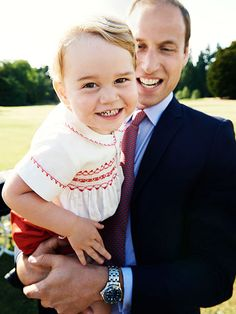 See Prince George Show Off His Toothy Smile in Adorable New Birthday Portrait http://www.people.com/people/package/article/0,,20395222_20939245,00.html