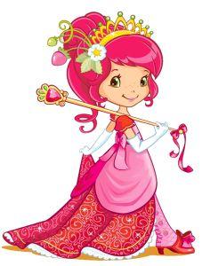 Strawberry Shortcake as the Berry Princess