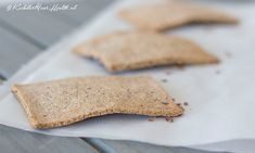 Zelfgemaakte crackers van boekweit