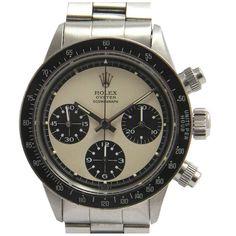 Rolex Stainless Steel Daytona Cosmograph Paul Newman Wristwatch Ref 6263