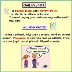 SLOH OMLUVENKA Homeschool, Language, Teaching, Education, Tips, Literatura, Languages, Onderwijs, Homeschooling