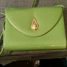 I just discovered this while shopping on Poshmark: Lime green Handbag. Check it out!  Size: OS