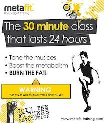 I have just been to my first metafit class.. it's hard, really hard, but hopefully will get easier in time