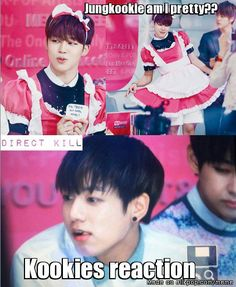 What the shiz? xD | Meme Center | allkpop | BTS | Bangtan Boys | Jimin | Park Jimin | Jungkook | Jeon Jungkook |