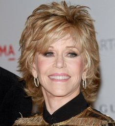 Jane Fonda Hairstyles 2012   1000 idées sur le thème Jane Fonda sur Pinterest   Alain Delon ...