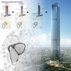 Azure Coast Tower   Qingdao   China   Future Projects 2015   WAN Awards