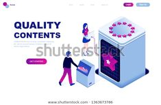 Image vectorielle de stock de Modern Flat Design Isometric Concept Quality 1363673786 Flat Design, Exposition Interactive, Illustrations, Concept, Modern, Illustration, Illustrators, Apartment Design