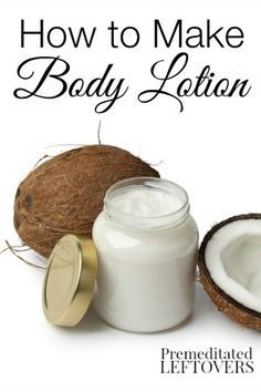 .How to Make Your Own Body Lotion - You can combine a few common organic ingredients to make your own homemade body lotion. A popular DIY recipe and tips are included.