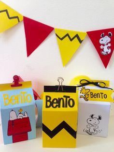 Festa de Aniversário Snoopy e Charlie Brown - Caixa milk desse cachorrinho sonhador, engraçado e  amigável!  Gift box Snoopy, Birthday party Snoopy