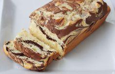 Varomeando: Cake marmolado de chocolate, vainilla y limón