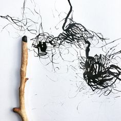 Contemporary Drawing / Dessin contemporain Ink on paper / Encre sur papier, 2018 – Olivier Umecker Inspiration Art, Sketchbook Inspiration, Art Inspo, Music Drawings, Doodle Drawings, Land Art, Art And Illustration, Geometric Shapes Art, Tracing Art