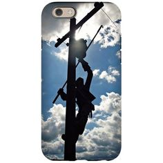 Rusty the Lineman iPhone 6 Tough Case on CafePress.com