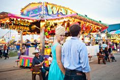 texas carnival engagement photos by the life you love photography.