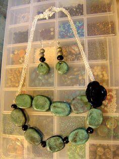 Make homemade beads