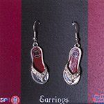 """#cybermonday #stockingstuffer #jewelry  Bling Bling, Collegiate Jewelry, 1.5"""" silver tone flip flop earrings featuring the South Carolina logo Hail Mary Gifts,http://www.amazon.com/dp/B008I5N0H4/ref=cm_sw_r_pi_dp_fRoNsb15R78MDXH4"""