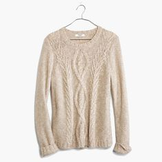 Madewell Firelight Marled Pullover