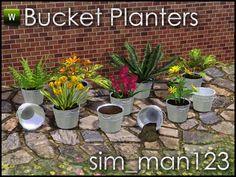 sim_man123's Bucket Planters