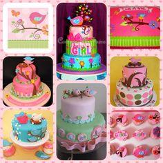 Tweet bird cakes#Shower Box# like us on Facebook# https://www.facebook.com/myshowerbox