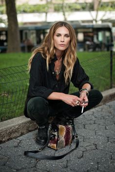remember when downtown hippie/biker chic suddenly became really popular? that was erin wasson. edit: and alexander wang, who was inspired by erin wasson.