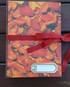 Outono #bradel #lovebooks #handmadebooks #encadernaçãomanualartística #bookbinding #reliure
