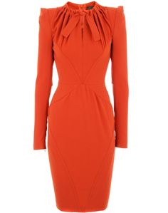 Orange Copenhagen Crepe Dress
