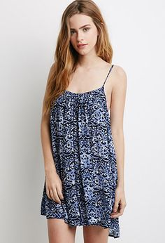 Abstract Print Cami Dress | Forever 21 - 2000133614
