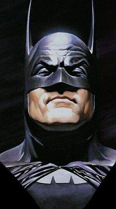 The Batman - alex ross Comic Book Artists, Comic Artist, Comic Books Art, Batman Painting, Batman Artwork, Batman Wallpaper, Alex Ross, Batman And Superman, Batman Comics