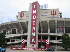 Indiana University Memorial Football Stadium