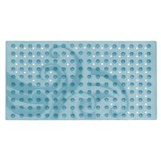 Popular Bath Products Waves Tub Mat, Blue