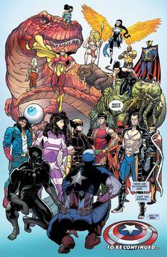 Luke Cage, Wolverine, Kung Fu, Jean Grey, X Men, Hulk, Marvel Comics, Absorbing Man, Beast Boy