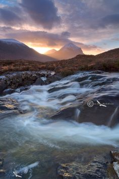 Sligachan. Marsco Sunrise. Isle of Skye. Scotland.