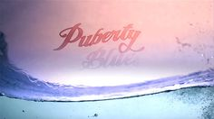 Heather: Puberty Blues. A cringe/ (aptly named) Australian teen tv series I used to watch - thought the font, colour scheme was in fitting with our theme