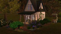 Sims3 -  Petite Summerlin Cottage based on Sandra Fosters Cottage