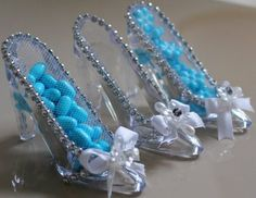 zapatos de cristal de cenicienta