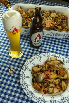 Briam, Greek Recipes, Chicken Wings, Food And Drink, Yummy Food, Meat, Vegetables, Cooking, Kitchen