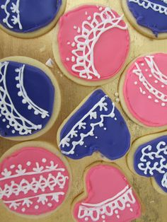 royal icing biscuits!