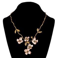 I LOVE Michael Michaud -  he is my favorite jewelry artist.  Birthday hint-Dogwood necklace!