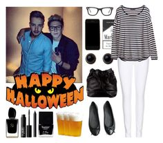 """Halloween party with your boyfriend and Niall"" by mmatildecunha ❤ liked on Polyvore featuring Payne, Paige Denim, Adele Marie, H&M, Ray-Ban, ZALORA, Marc by Marc Jacobs, Giorgio Armani, NARS Cosmetics and Butter London"