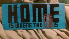 This 12.5x5.25 (approx.)wood sign is painted in Tardis blue acrylic paint and made to have a distressed look. Its adorned with black matte vinyl words and a glitter vinyl Tardis and spray sealed with acrylic. Any Whovian would love to have this! Ships priority mail! ** Actual sign MAY