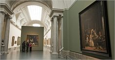 """At the Prado, Velázquez's """"Las Meninas,"""" right, is sharing space with John Singer Sargent's """"The Daughters of Edward Darley Boit."""""""