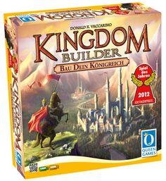 Queen Games 6083 - Kingdom Builder, Spiel des Jahres 2012:Amazon.de:Spielzeug