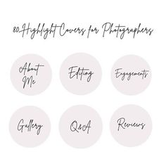 Instagram Highlight Covers for photographers   Wedding photography   Portrait photograhpy   modern instagram highlights   handwritten instagram highlight covers   minimalistig instagram highlight covers #instagramhighlightcover Story Instagram, Free Instagram, Text Icons, Handwriting Styles, Custom Icons, Story Quotes, Beige Background, Handwritten Fonts, Gift Quotes