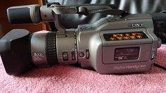 DCR-VX1000 (1995) Walkie Talkie, Camcorder, Binoculars, Sony, Inspired, Movie Camera