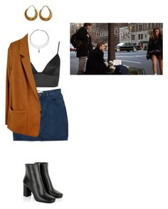 """Untitled #1021"" by adolescentdazecraze ❤ liked on Polyvore featuring Topshop, Monki, Forte Forte, Prada and Urbiana"